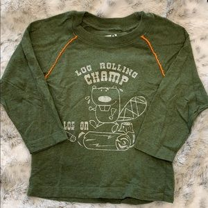 Boys long sleeve T-shirt size 18 to 24 months